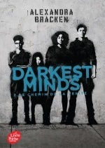 Darkest Minds - Tome 2 avec affiche du film en couverture