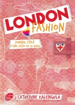 couverture de London fashion - Tome 1 - Journal stylé d'une accro de la mode