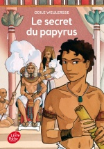 couverture de Le secret du papyrus