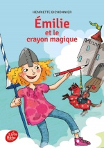 couverture de Emilie et le crayon magique - collection cadet